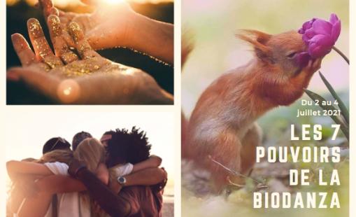 Juillet 2021 Stage les 7 pouvoirs de la Biodanza