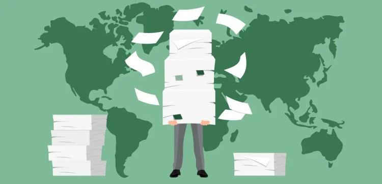 Solisco printer - Worldwide paper consumption
