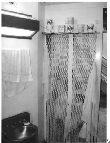 PBSP SHU 3front of cell from inside cell CPW