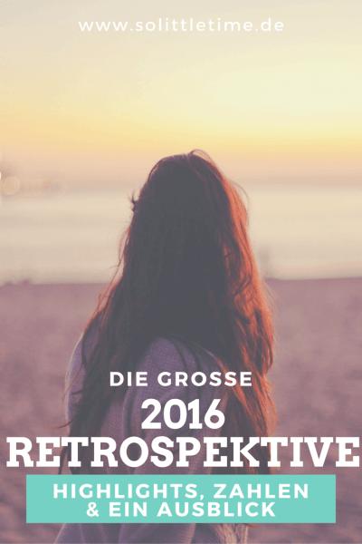 Die große 2016 Retrospektive - Highlights, Zahlen & ein Ausblick
