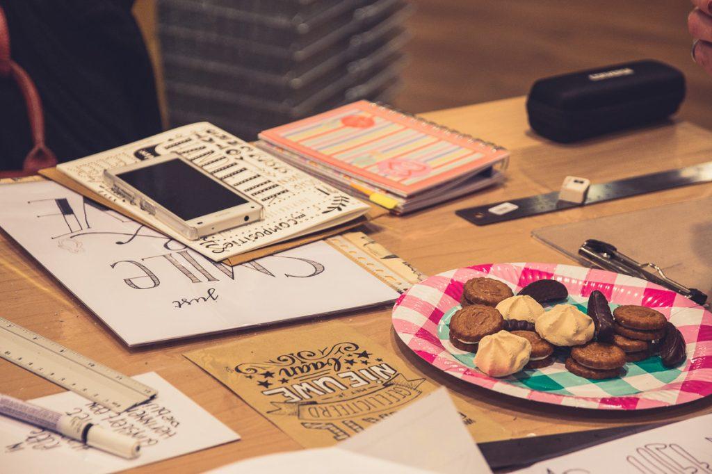 Workshop handlettering, Amersfoort, Leonie Haas