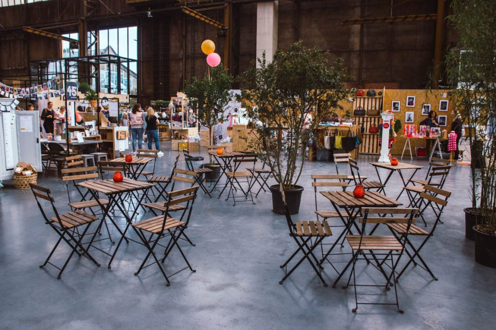 Creatieve evenementen in het Werkspoorkathedraal van Utrecht. Flavourites 2017.