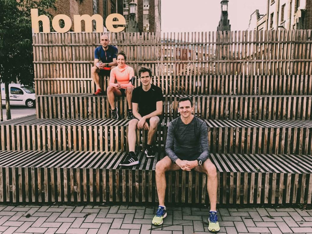 Statikbe. 10km run Kom op Tegen Kanker