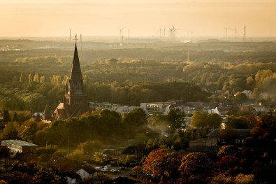 Beringen Terril. BE-Mine. Wandelen in Limburg.