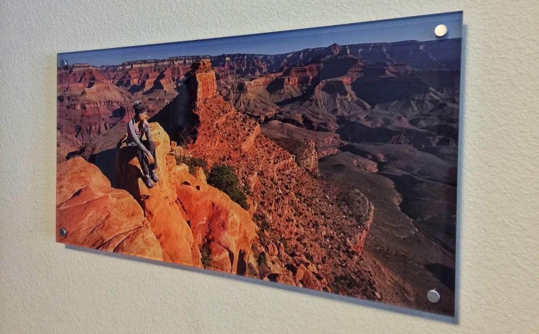 Acrylic Post Mounted Wall Art