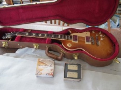 New pickups fitted to Gibson Les Paul