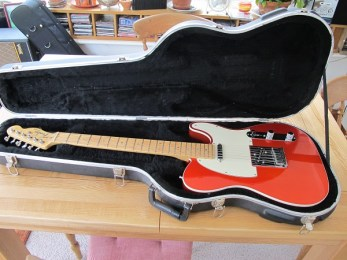 Very nice Fender Custom Deluxe here, in for a bit of wiring repairs and the addition of an Electro-socket. Very nice.