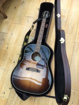 Wow the sound from this gorgeous Gibson J45 was just a joy to behold. Another guitar set up to enjoy during lockdown, the customer wanted the action lowering and the pickup repairing. A truly stunning acoustic.