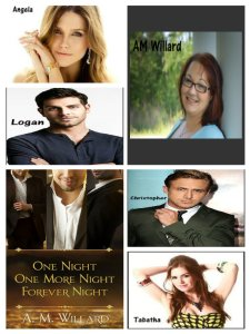 One Night Characters Collage
