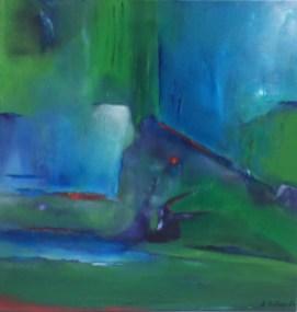 """Mauerfall"", 2016, 60 cm x 60 cm"