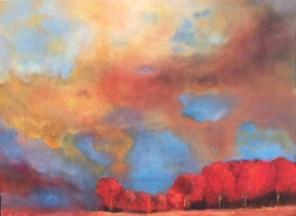 """""""Herbst"""", 2018, 80 cm x 60 cm"""