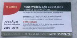 Kunstverein Godesberg 2015