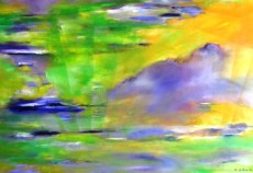 """Frühlingsgefühle 2"", 2014, 100 cm x 70 cm"