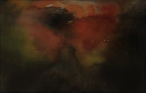"""Lanzarote 1"", 1990, Aquarell, 30cm x 25 cm"