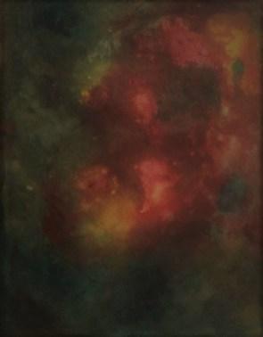"""Big Apple"", 1980 , Aquarell, 60 cm x 50 cm"