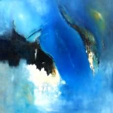 """Konfrontation"", 1996, 100 cm x 100 cm"