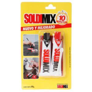 Adhesivo 10 minutos Soldimix 35 gr SOLDIMIX WWW.SOLMINSA.COM TELEFONO 2522207