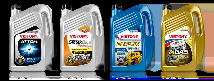 Lubricantes para Motores Gasolineros Gas Distribuidor Vistony en el Perú Lima Peru Telefono 2522207