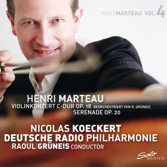 Henri Marteau – Violin concert C-Dur Op. 18 / Serenade Op. 20