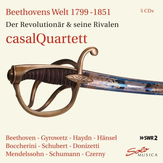 casalQuartett – Beethoven's World 1799 – 1851 (5 CD-Box)