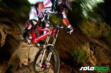 Horquilla Rock Shox BoXXer World Cup Keronite