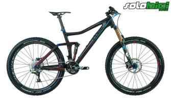 160-120/160 mm, full carbon, 9,95 kg, 7.999 euros