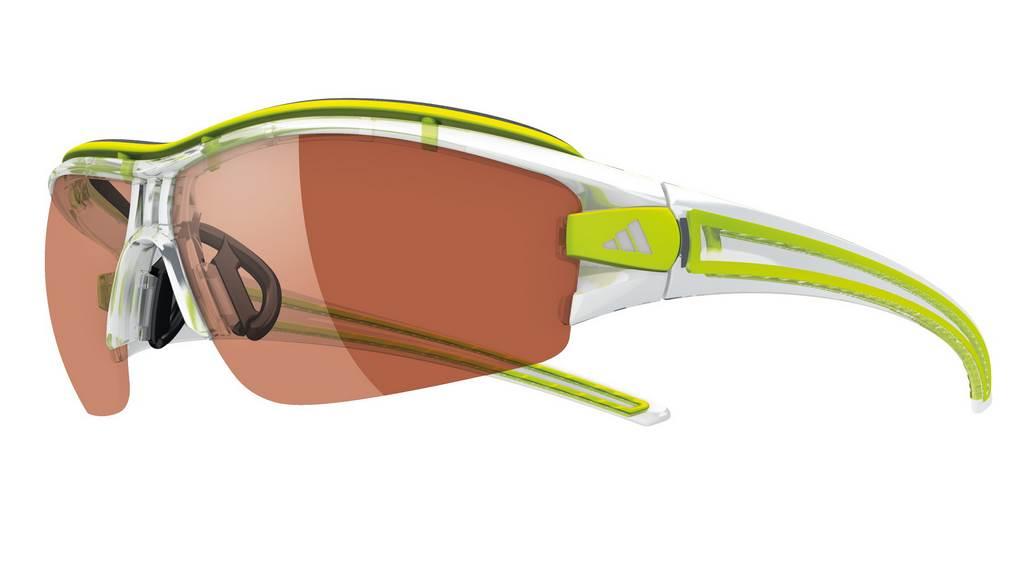 As Centrar apuntalar  100 km con una Gafas Adidas Evil Eye Halfrim Pro