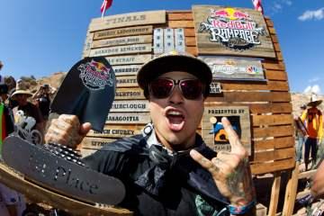 Andreu lacondeguy victoria Red Bull Rampage
