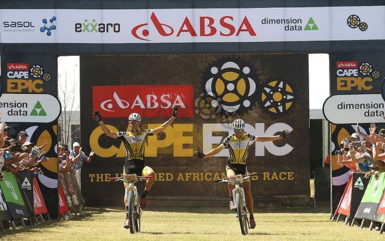 Absa Cape Epic 2015 Stage 5 Worcester to Wellington