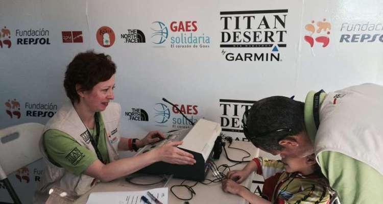 Titan Desert solidaria