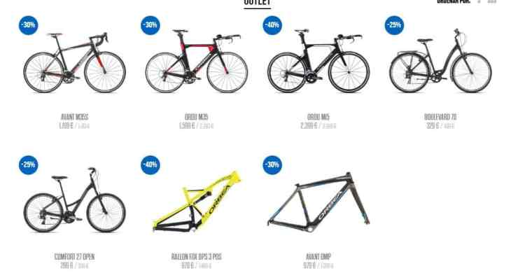 Orbea Blue-Outlet
