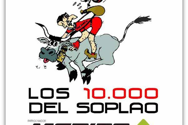 La imagen del cartel de los 10.000delsoplao