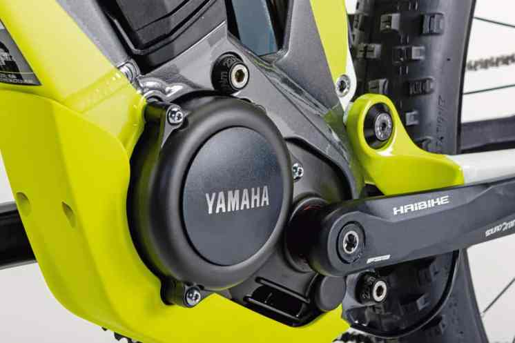 El nuevo motor Yamaha, a pesar de sus poderosos 80 Nm de par, es extremadamente compacto, ligero y perfectamente controlable.