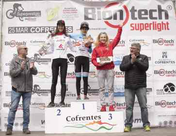 podio absoluto femenino