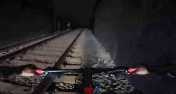 arrollados por un tren