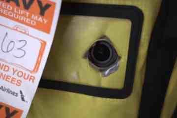 GoPro en la maleta