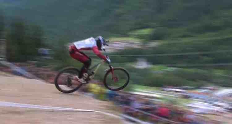 descenso ganador de Amaury Pierron