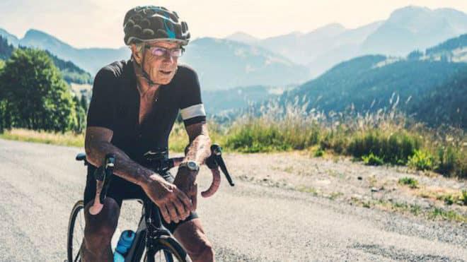 ciclista de 90 años