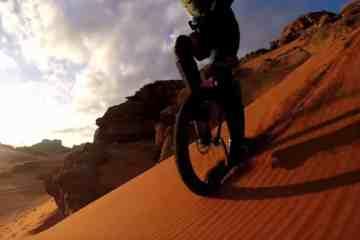 downhill en monociclo