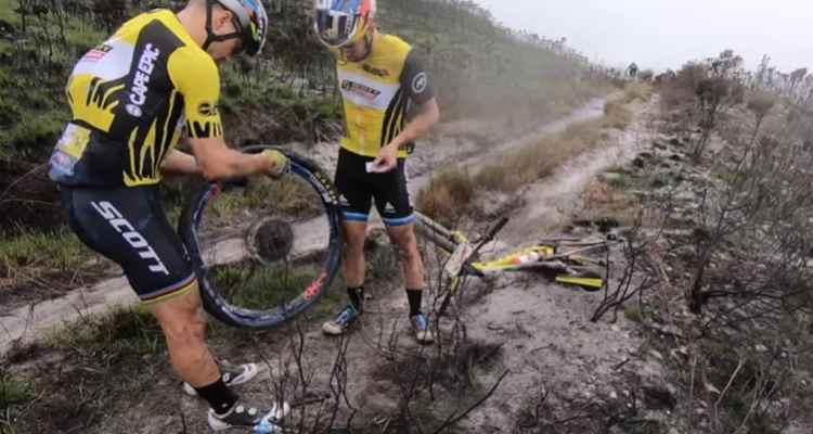 Schurter y Forster Cape Epic 2019
