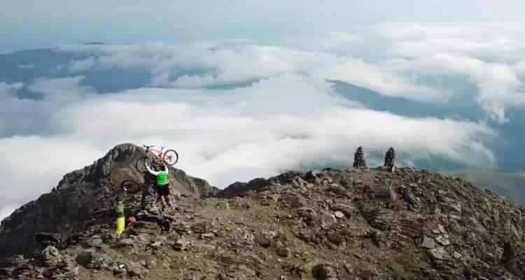 Vídeo descenso BTT por Arbizon