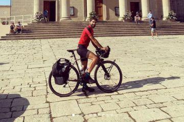 español bicicleta pandemia