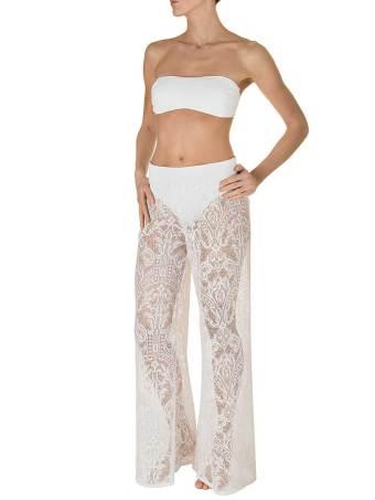 Pantalone Pizzo Bianco-0