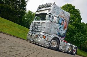 Scania R730 James Bond