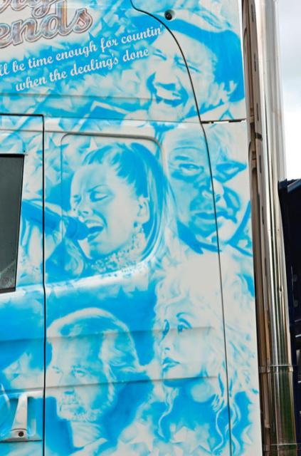 Exterior Scania R620 Country Legends