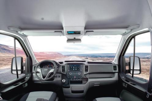 Interior Hyundai H350