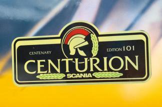 logo Centurion Scania
