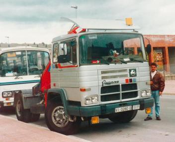 Pegaso Scania T113
