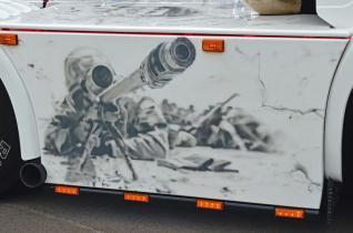 Scania R620 Soldados