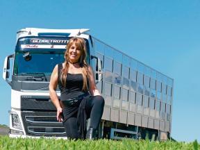 Camionera Inma Matesanz